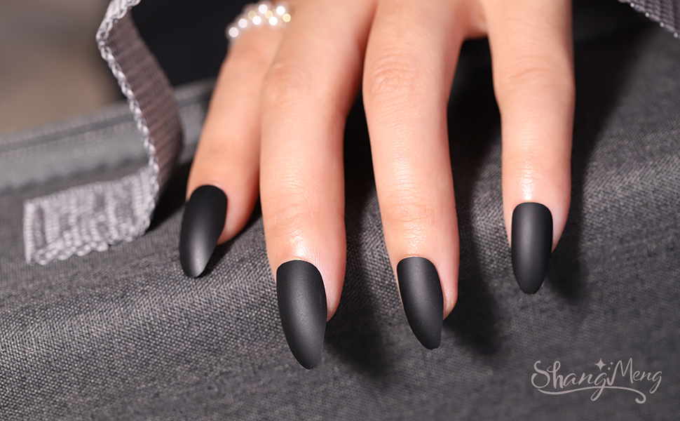press on nails false coffin