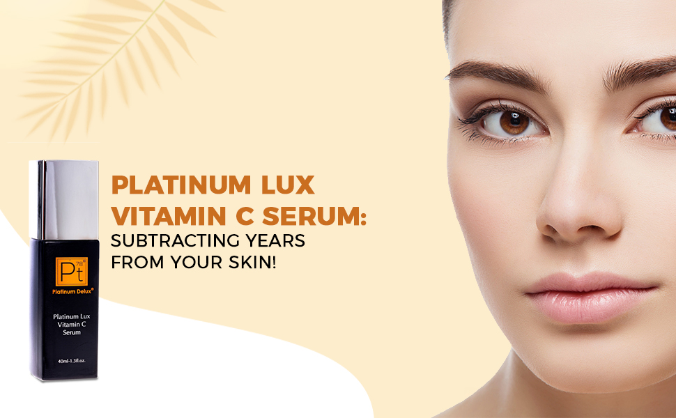Platinum Lux Vitamin C Serum