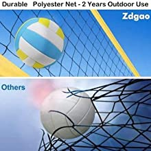 volleyball net durable