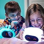 Nightlight, nursery light, kids alarm clock, training alarm clock, sound soother for baby