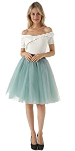 tutu skirts for women grey green