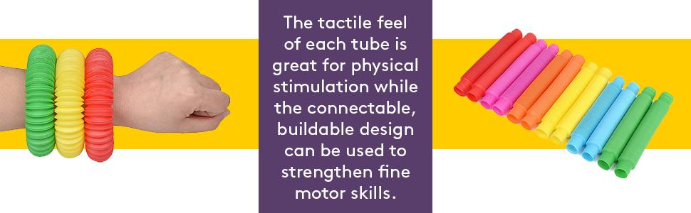 Sensory Pull and Pop Tubes