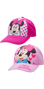 2 Pack Cotton Baseball Cap: Minnie Mouse
