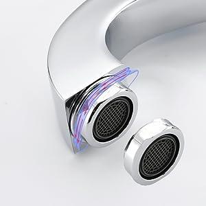 3 holes bathroom faucet