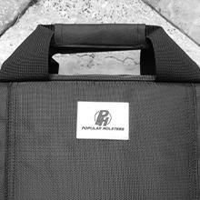 soft pistol case double zipper wrap handles soft handgun case men women carry pouch ammo