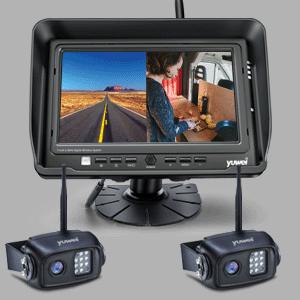 Split view backup monitor