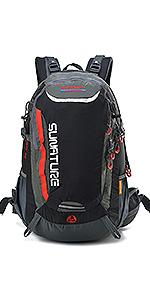 40L Hiking backpack black