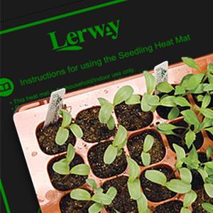 Heating mat seedling