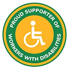 Proud Supporter of Workers with Disabilities