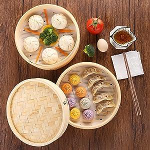 steaming basket steamer basket for cooking, steam basket bamboo bun steamer steamer for vegetable