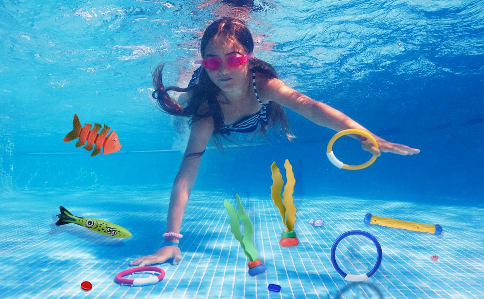 wimming Pool Diving Toys for Kids