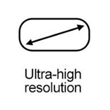 High resolution LCD