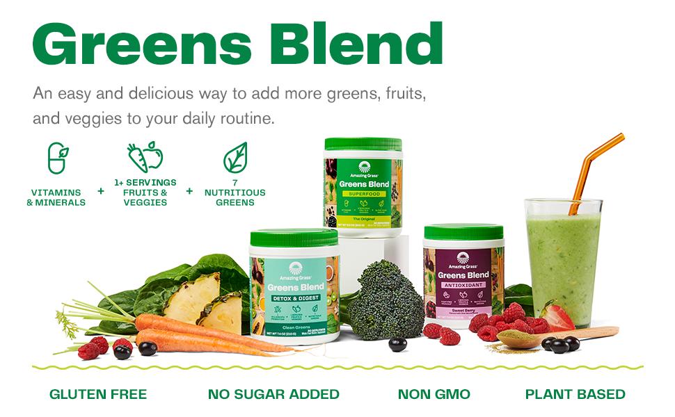 Amazing Grass, antioxidants, superfood