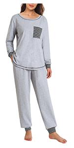 womens cotton pajama pants set