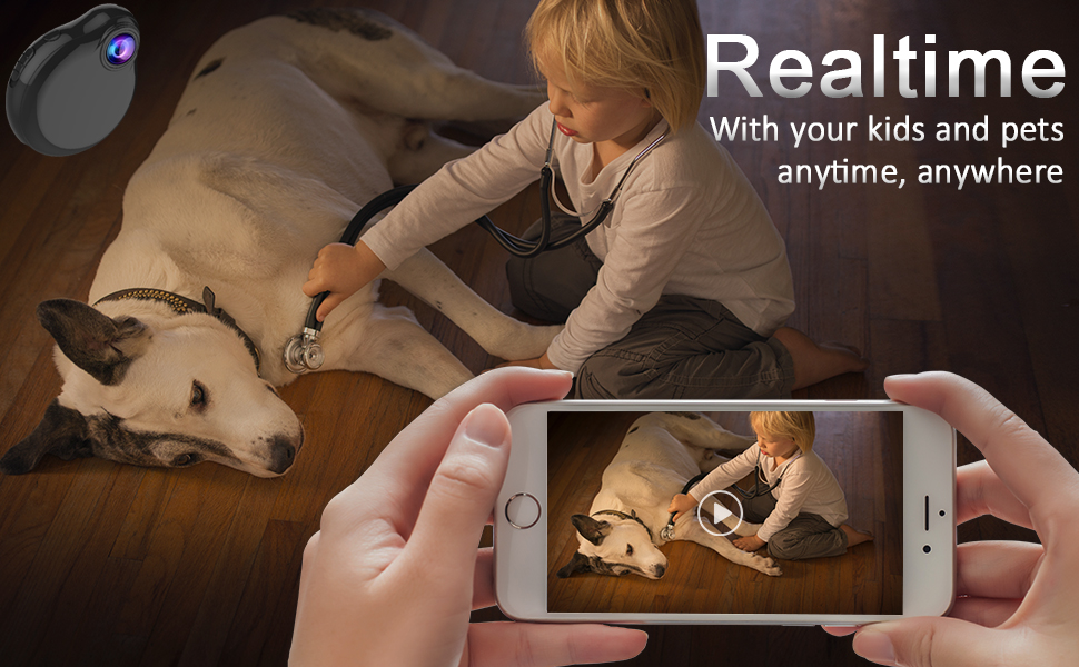Baby monitor,keep an eye on your pets,kids,children,home any time