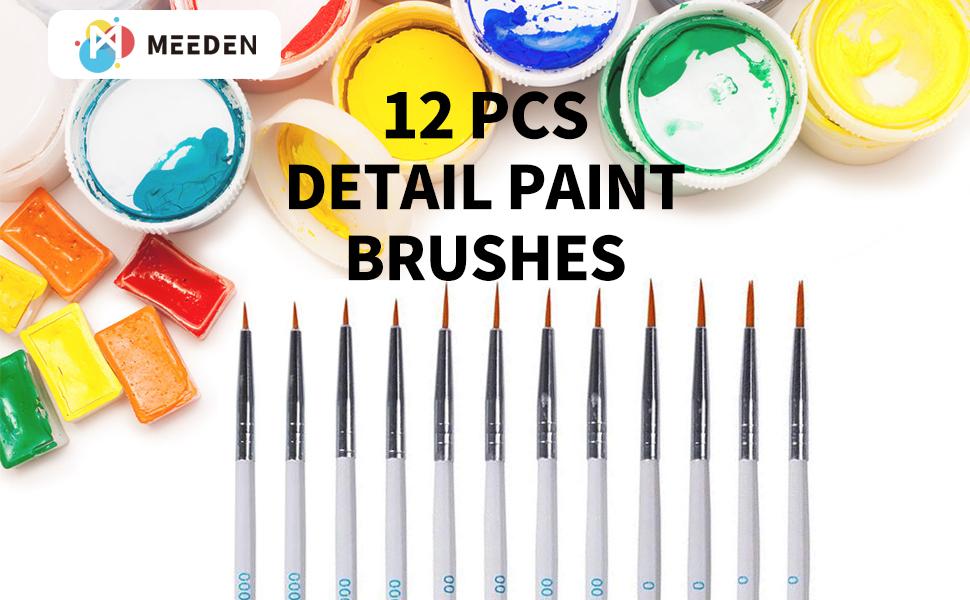 detail Paint Brush Set