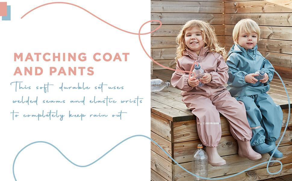 MATCHING COAT AND PANTS