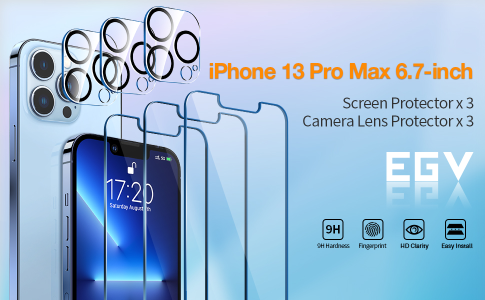 iPhone 13 pro max 6.7 inch Screen Protector