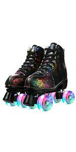 1Lightning roller skating
