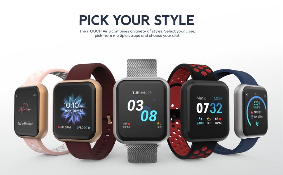 Smartwatch, Smart watches, Smart watch, reloj inteligente, Bluetooth Smart watch, Android and iOS