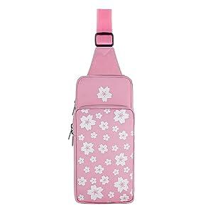 Pink bag front
