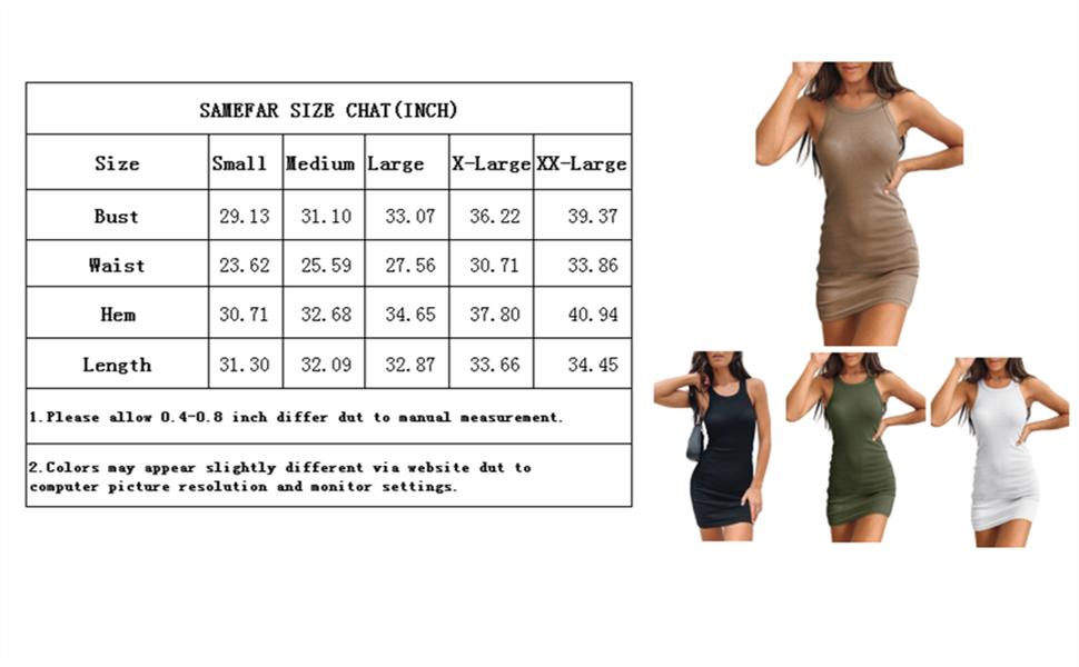 women tank dress