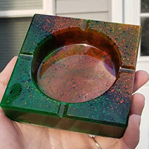 square resin molds