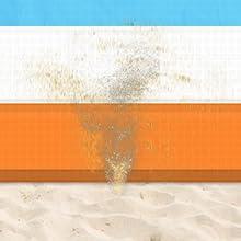 Sand proof beach mat