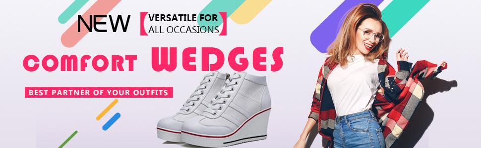 Confort Heel Wedges