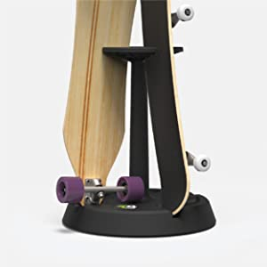 Parking Block Rotary Turntable 4-Up Skateboard Stand