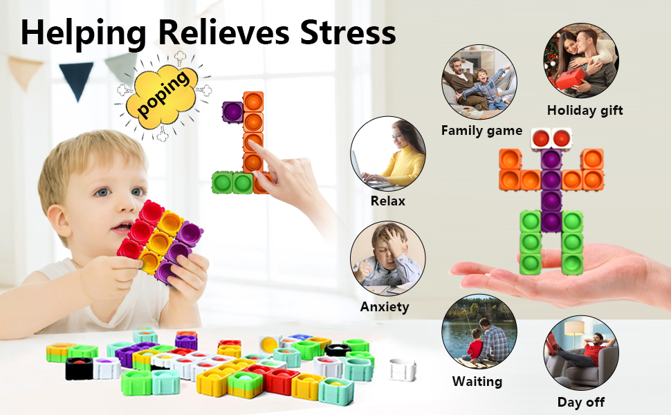the fidget toys can help to relieve stress