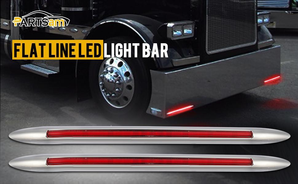 flat line led light bar