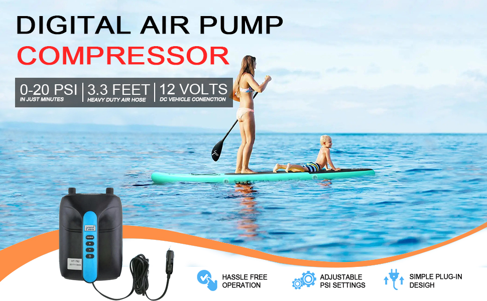 Electric SUP Air Pump