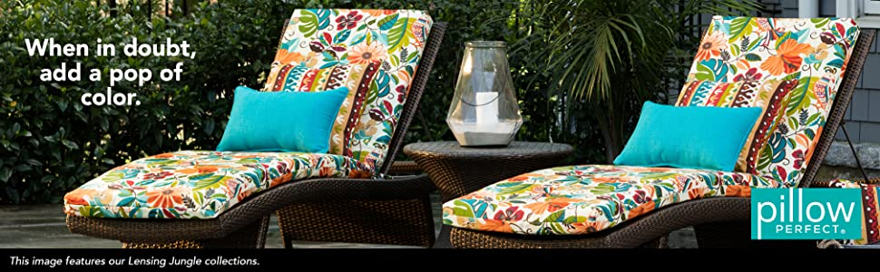 Pillow Perfect Outdoor Cushion
