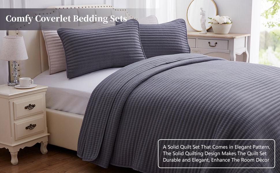 quilt set bedspread overlet