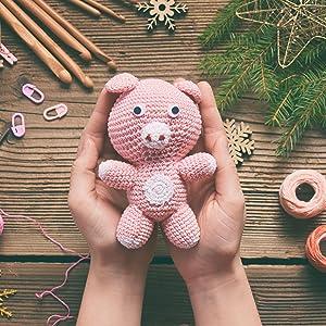 amigurumi stuffed animal bear dolls