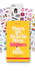 colorful planner sticker book, 300+ sticker sheets