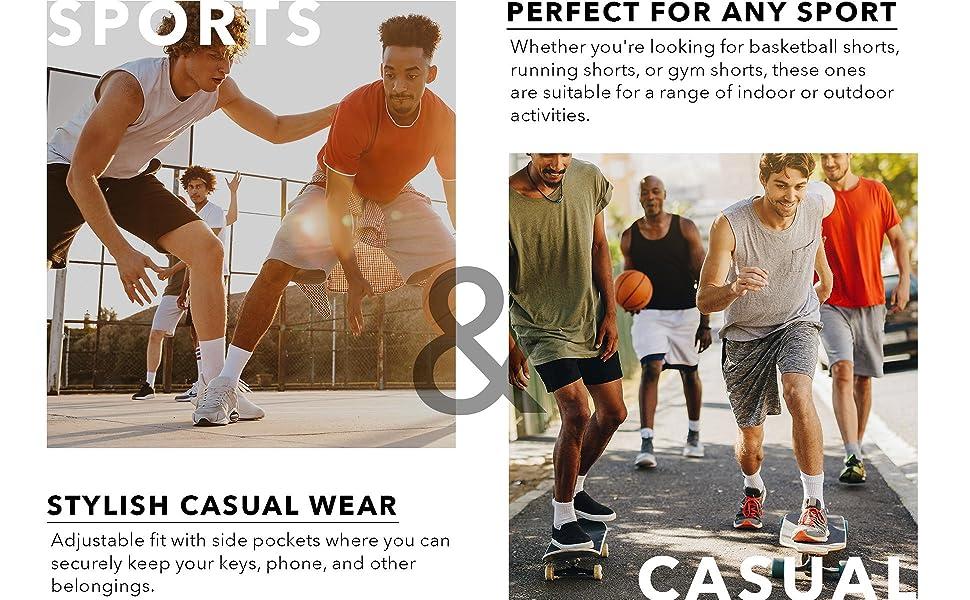 Mens Active Shorts