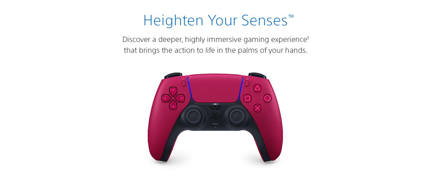 DualSense wireless controller Cosmic Red