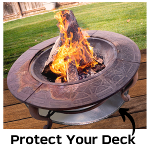 deck protector defender newtex fire resistant mat pad grill bbq patio lawn smoker made in usa