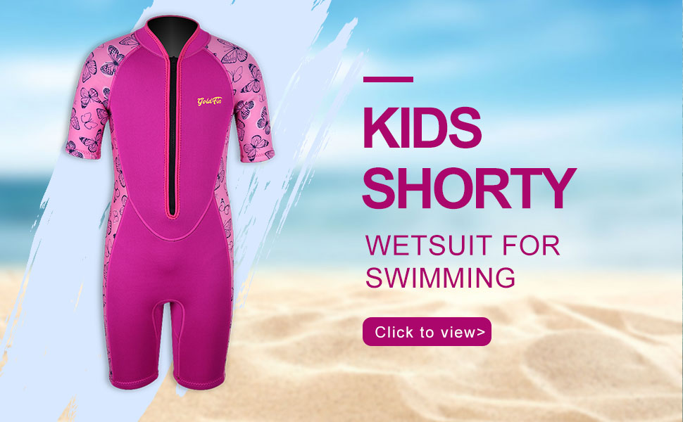 girls shorty wetsuit