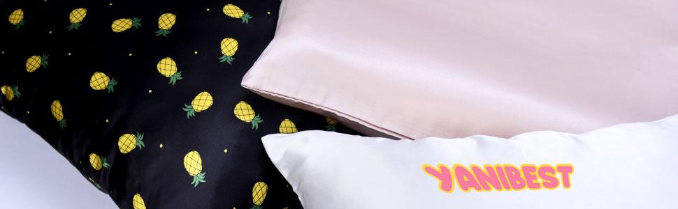 yanibest toddler silk pillowcase