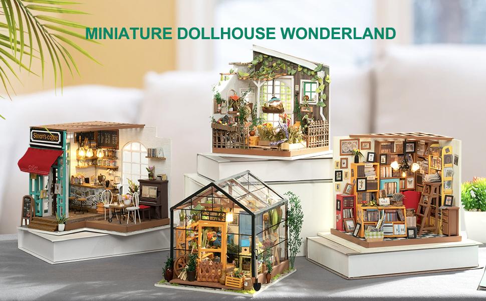 Rowood Miniature Dollhouse Kits