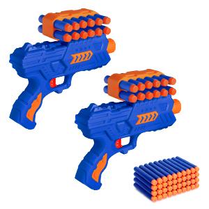 shooting gun