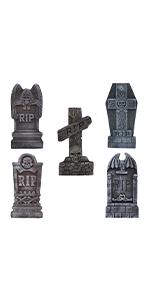 """17"""" Foam RIP Graveyard Tombstones"""