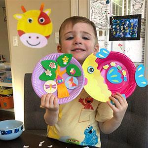 DIY Zoopal Paper Craft - Fun Time