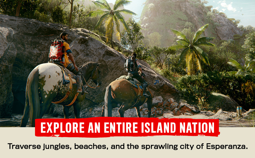 Explore an entire island nation