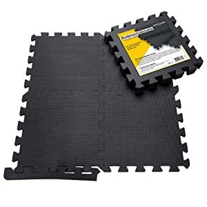 Vloer bescherming Mat Beschermende Mat Set Onderlaag Mat voor fitness apparatuur Fitness Mat B