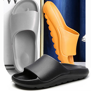 Pillow Slides Sandals for Women Men Lightweight Squishy Shower Shoes