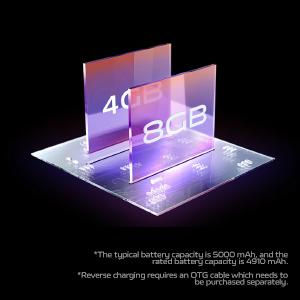 8GB + 4GB Extended RAM